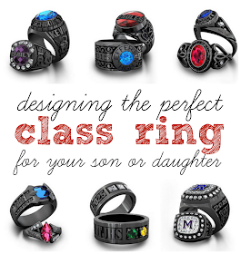 Designing the Perfect Class Ring for your son or daughter at GingerSnapCrafts.com
