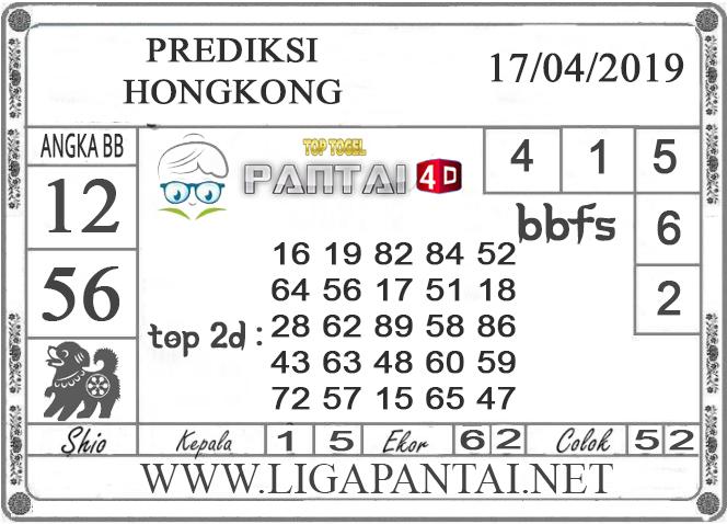 """Prediksi Togel """"HONGKONG"""" PANTAI4D 17 APRIL 2019"""