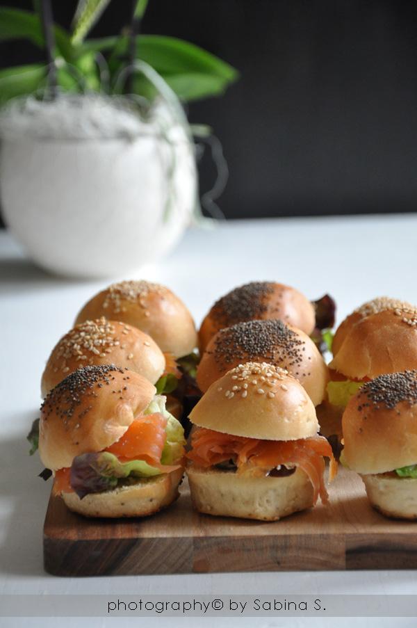 """Favorito Due bionde in cucina: """"Mini Burger Buns"""" panini mignon farciti al  CV51"""