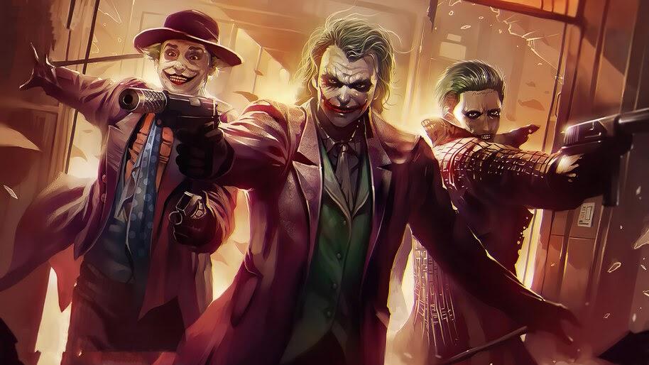 Different, Jokers, Supervillain, 4K, #6.2017