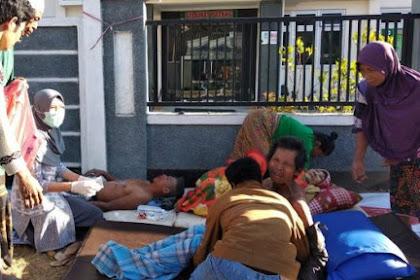 Gempa Lombok: 14+ Orang Meninggal Dunia, 162+ Orang Luka-Luka, 1000+ Rumah Rusak