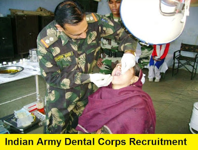 Indian Army Dental Corps Recruitment 2017 - 2018