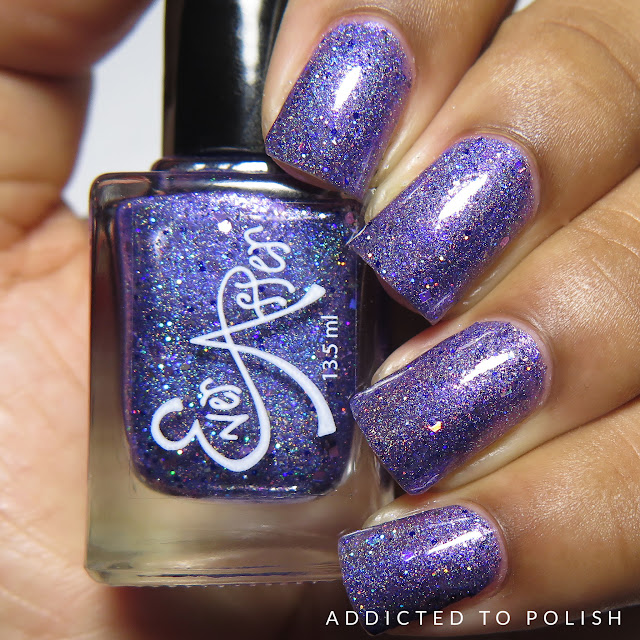 Ever After Polish Vivid Violet Voyage The Color Box Purple