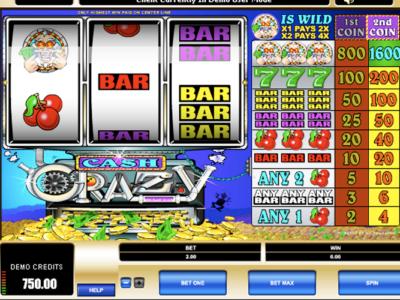 Cash Crazy Slots