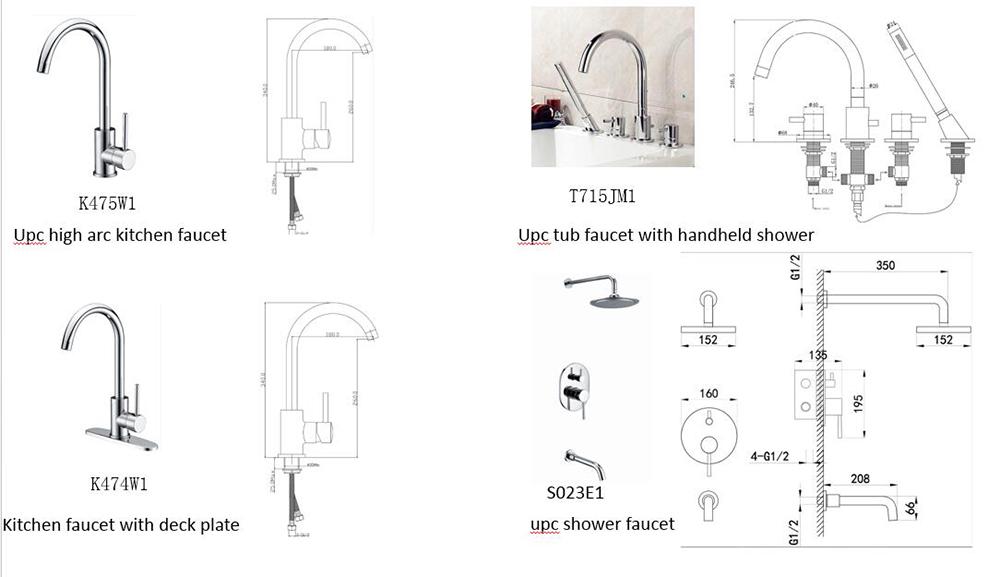 faucet manufacturer,upc faucet,shower faucet,stainless steel faucet ...