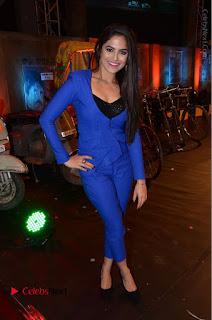 Actress Naina Ganguly Stills in Blue Dress at RGV Shiva to Vangaveeti Event  0054.JPG