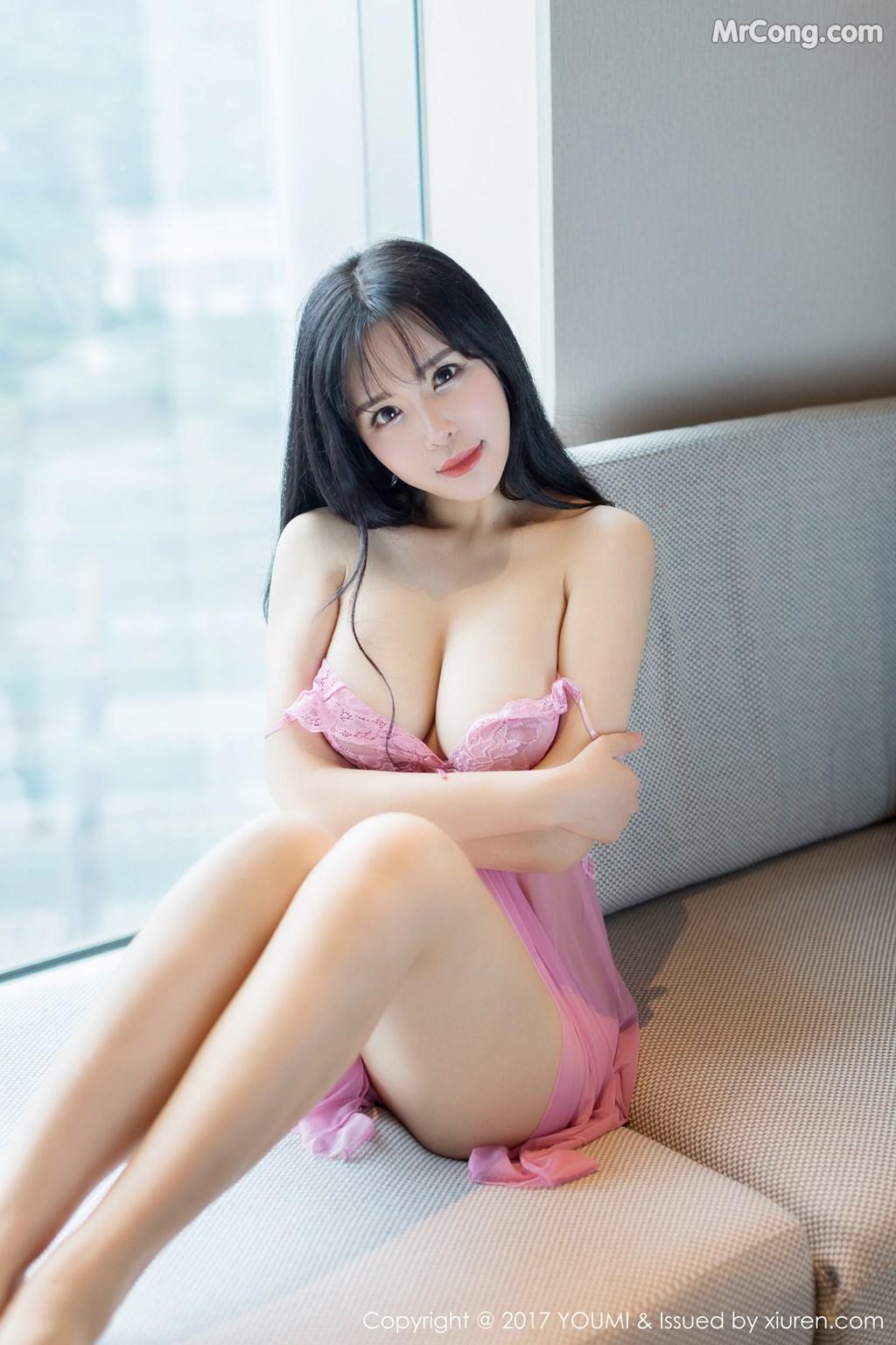 Image YouMi-No.067-Liu-Yu-Er-MrCong.com-008 in post YouMi No.067: Người mẫu Liu Yu Er (刘钰儿) (45 ảnh)