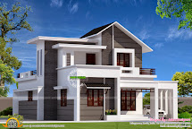 Modern Mix Small Double Storied House - Kerala Home Design