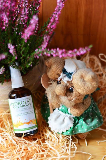 Polny Warkocz- słowiańskie kosmetyki naturalne. Mazidło konopne i hydrolat oczarowy
