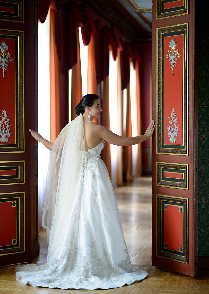 Vestuvinė fotosesija Verkių dvare