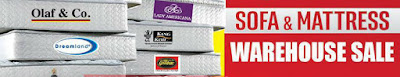 Sofa & Mattress Warehouse Sale 2016