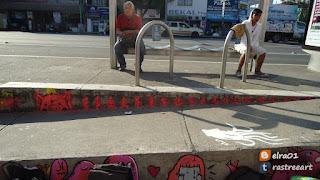 inervencion artistica en el metro obrera