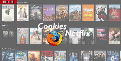Cookies Netflix Chrome