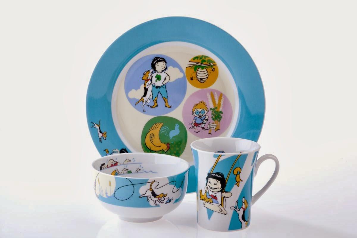 Kidliga dinnerware