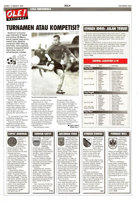 LIGA INDONESIA 1998 TURNAMEN ATAU KOMPETISI