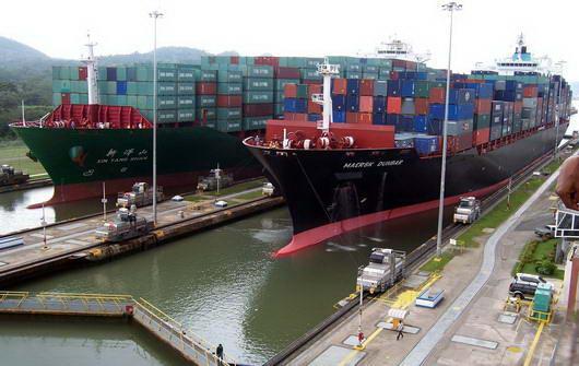 panama+terusan4 Butuh Rp. 3 M Untuk Ongkos 1 Kapal Melewati Terusan Panama