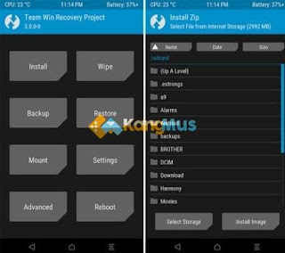 tutorial install twrp redmi 5a