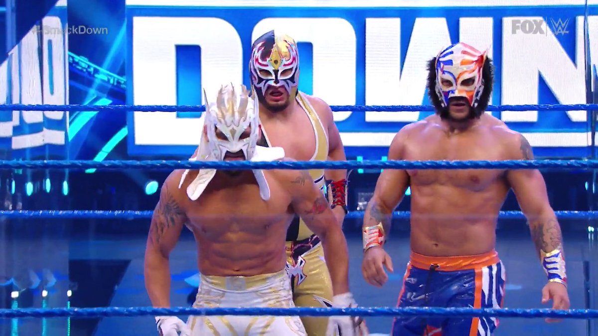 Kalisto faz seu retorno aos ringues da WWE