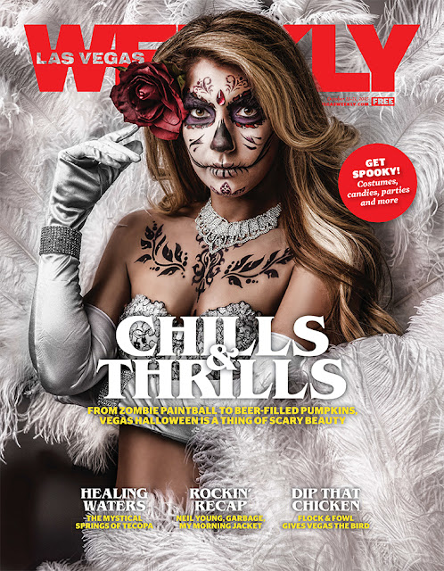 Confessions of a Las Vegas Weekly Cover Girl