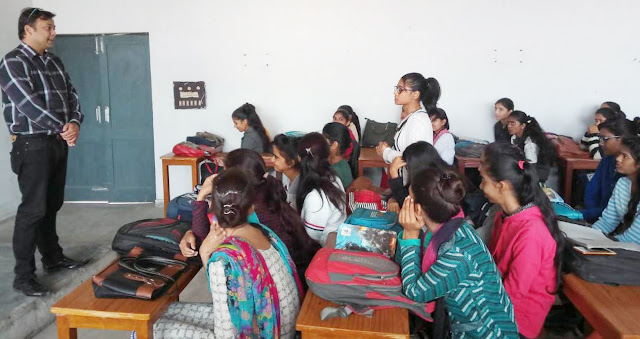 Organizing a three-day Personality Development Workshop at State Women's College