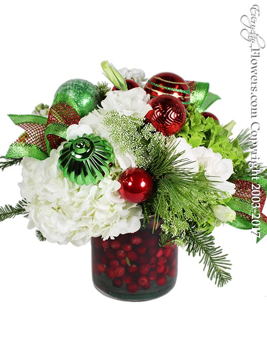 Tis The Season Christmas Flowers by Everyday Flowers