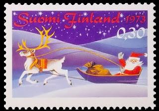 Filatelia - Navidad 1973 - Finlandia