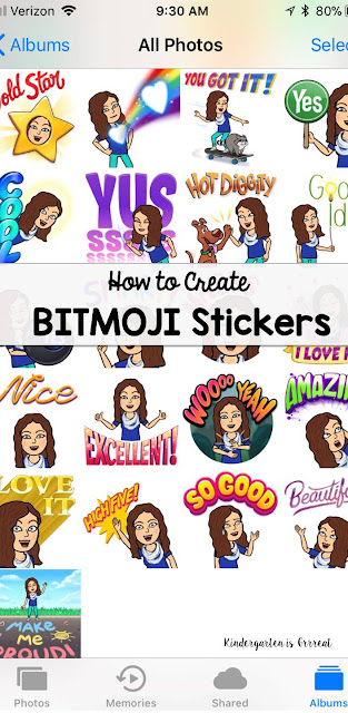 Bitmoji stickers can be the perfect motivator for students in your classroom.  Check out this how-to guide for making your own bitmoji stickers for your elementary, middle, or high school students!