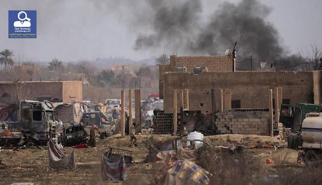 القوات المدعومة من الولايات المتحدة في سوريا تعتقل المشتبه بهم في تنفيذ عملية منبج