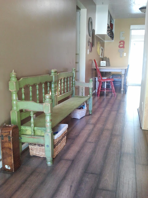 Do It Yourself Home Design: Drab To Fab: REDO FINALLY Part 2 Of Bunk Bed Frame