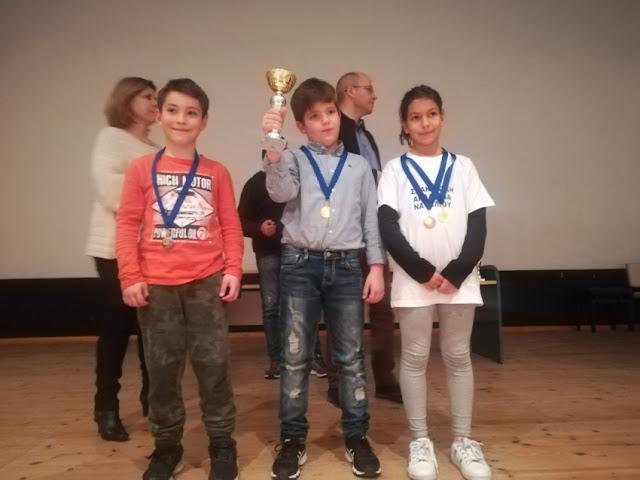 Διακρίσεις αθλητών της Σκακιστικής Ακαδημίας Ναυπλίου στο 30ο Πρωτάθλημα Σκακιού της Περιφέρειας Πελοποννήσου