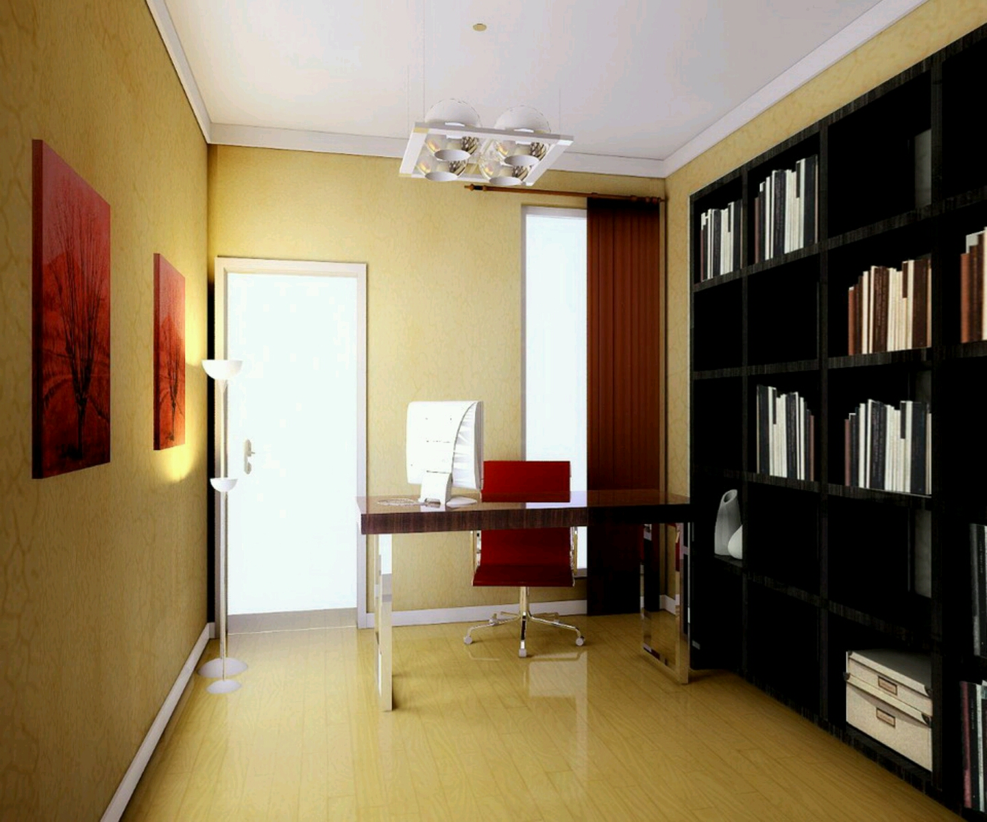 Modern Furniture Modern Study Room Furnitures Designs Ideas: Modern Furniture: Study Rooms Furnitures Designs Ideas