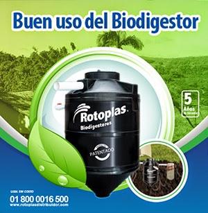 Uso del Biodigestor Rotoplas