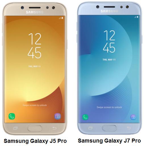 Samsung Galaxy J7 Pro dan Galaxy J5 Pro