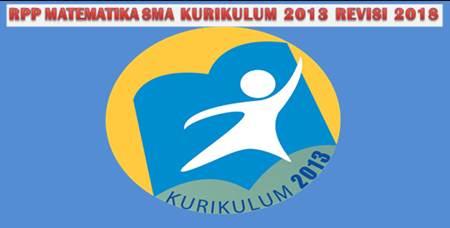RPP Matematika SMA Kurikulum 2013 Revisi 2018