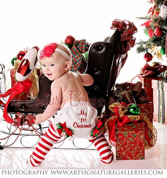 Running from the Law: Celebrating Baby\'s First Christmas