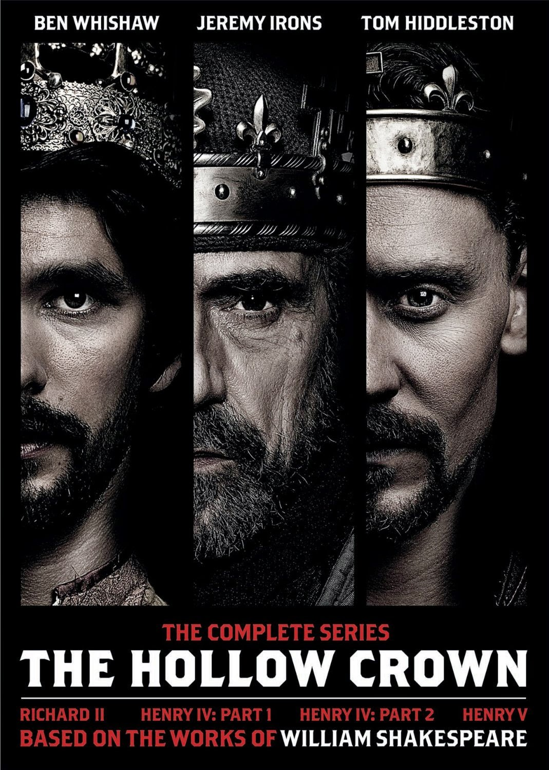 hollow crown szekspir serial jeremy irons tom hiddleston benedict cumberbatch