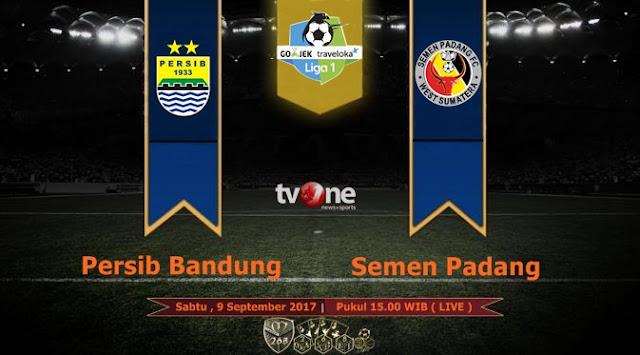 Prediksi Bola : Persib Bandung Vs Semen Padang , Sabtu 09 September 2017 Pukul 15.00 WIB @ TVONE