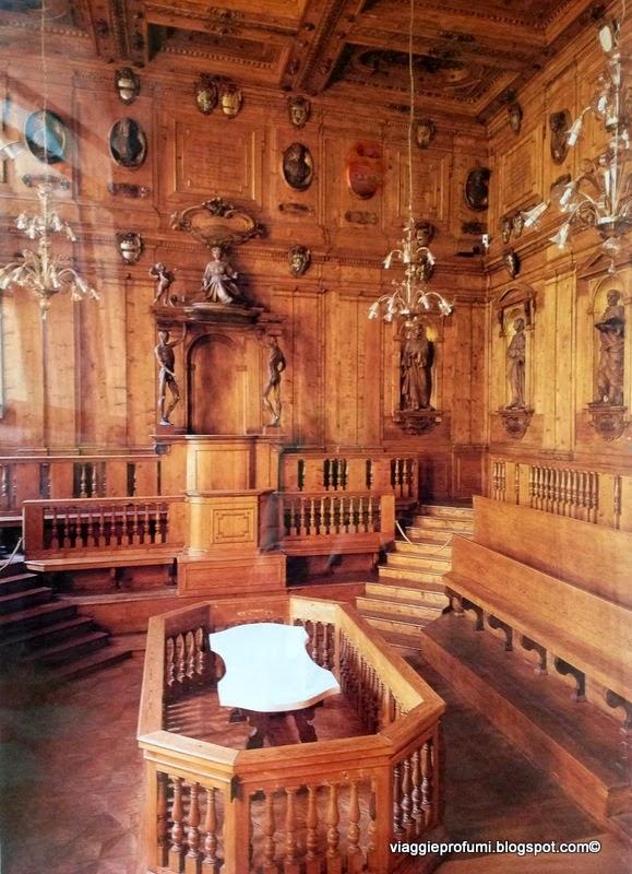 Archiginnasio di Bologna, il Teatro Anatomico