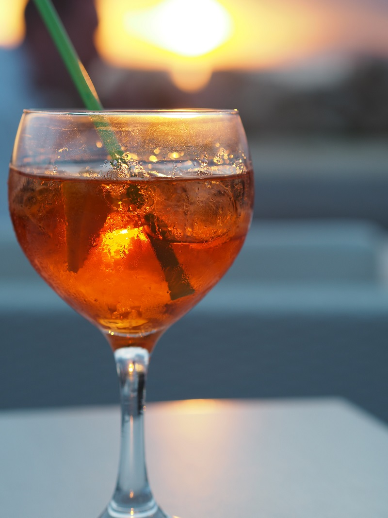 Aperol spritz and sunsets in Santa Pola