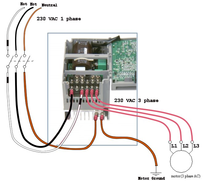 Industry Automation Blog: How to wire 3 phase motor to VFD