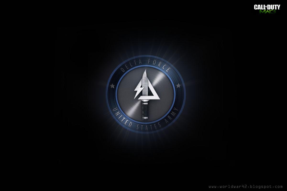 Modern WarFare 3 Delta Force Logo