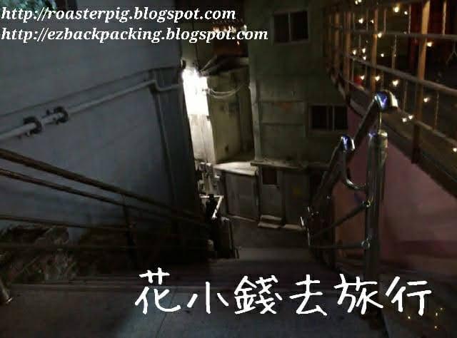 晚間釜山樓梯環境