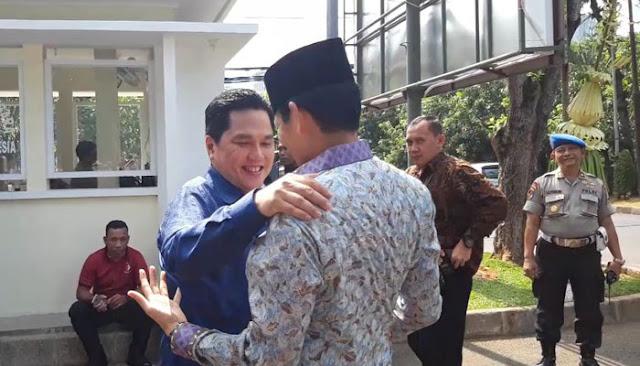 Sandi Sebut Erick Thohir Tak Berani Tolak Permintaan Jokowi