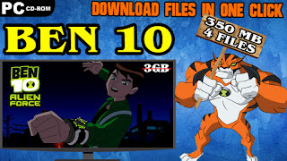BEN 10 ALIEN FORCE PC GAME DOWNLOAD