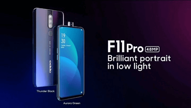 OPPO F11 Pro with full screen design, pop-up cameras, and 48MP cam to launch on March 5