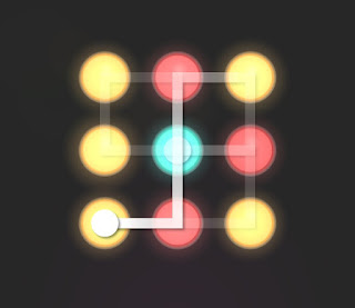 Solution, Cheats, Walkthrough for Neon Hack [Neon Dots] Level 29