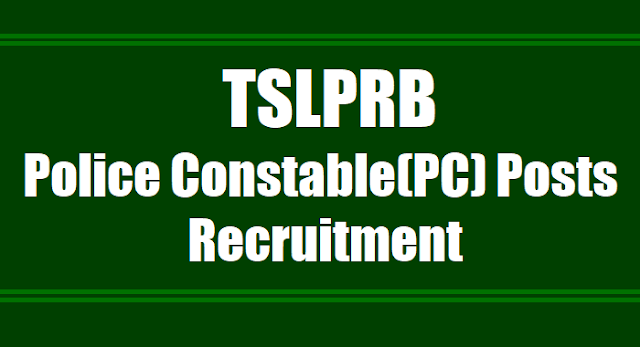 tslprb.in police constable posts recruitment 2017,syllabus,online application form,results,eligibility criteria,qualifications,registration fee,how to apply,selection list,exam pattern,exam date,last date