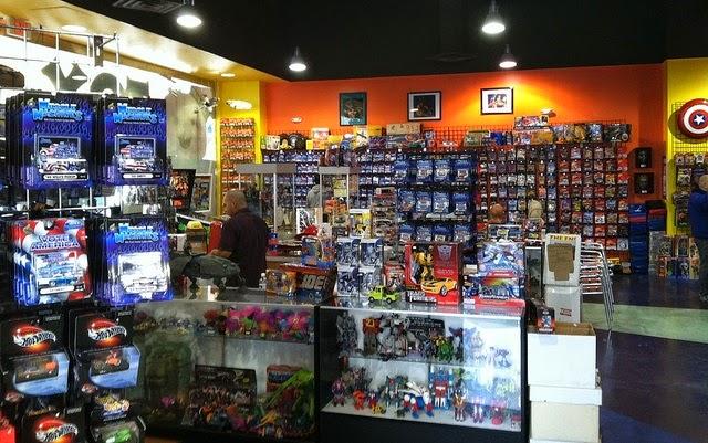 Loja de brinquedos The Toy Shack em Las Vegas