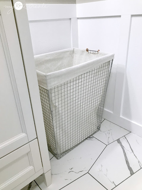 Wire laundry basket from At Home
