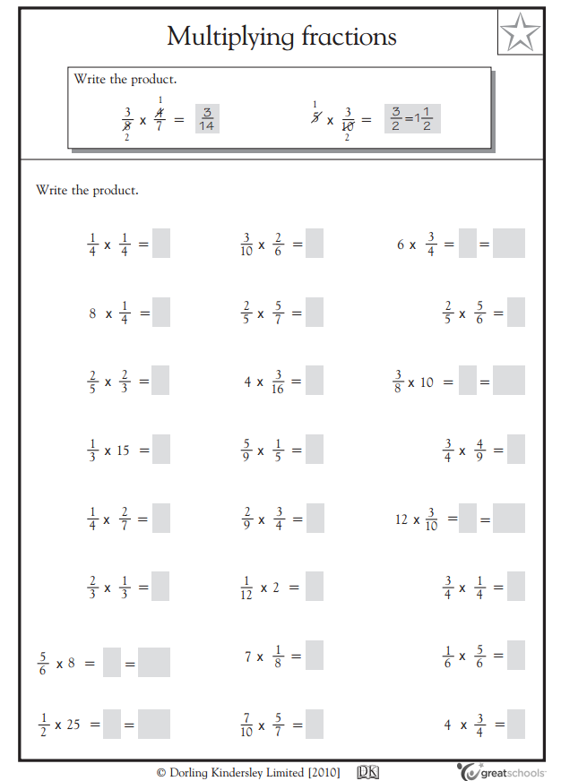Homework help math fractions